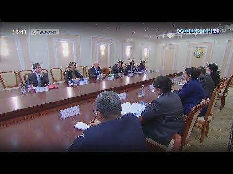 Встреча с Председателю Парламентской ассамблеи ОБСЕ Георгием Церетели в Сенате