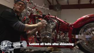 Installing A Motorcycle Engine & Transmission