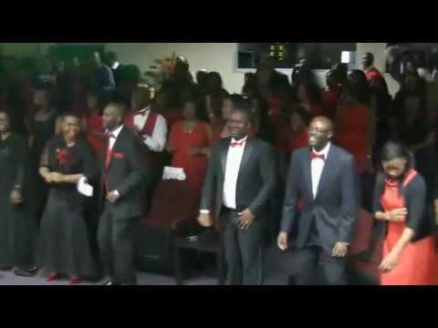 Gbenga Oke at winners Chapel Int'l Maryland singing Jesu ... Praise And Worship Music Images