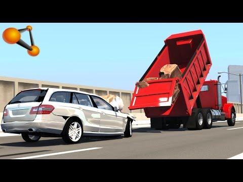 BeamNG.drive - Mercedes-Benz E250 Estate 2011 Crash Testing