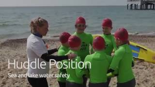 Huddle Position | Sea and Lake Water Safety Tips