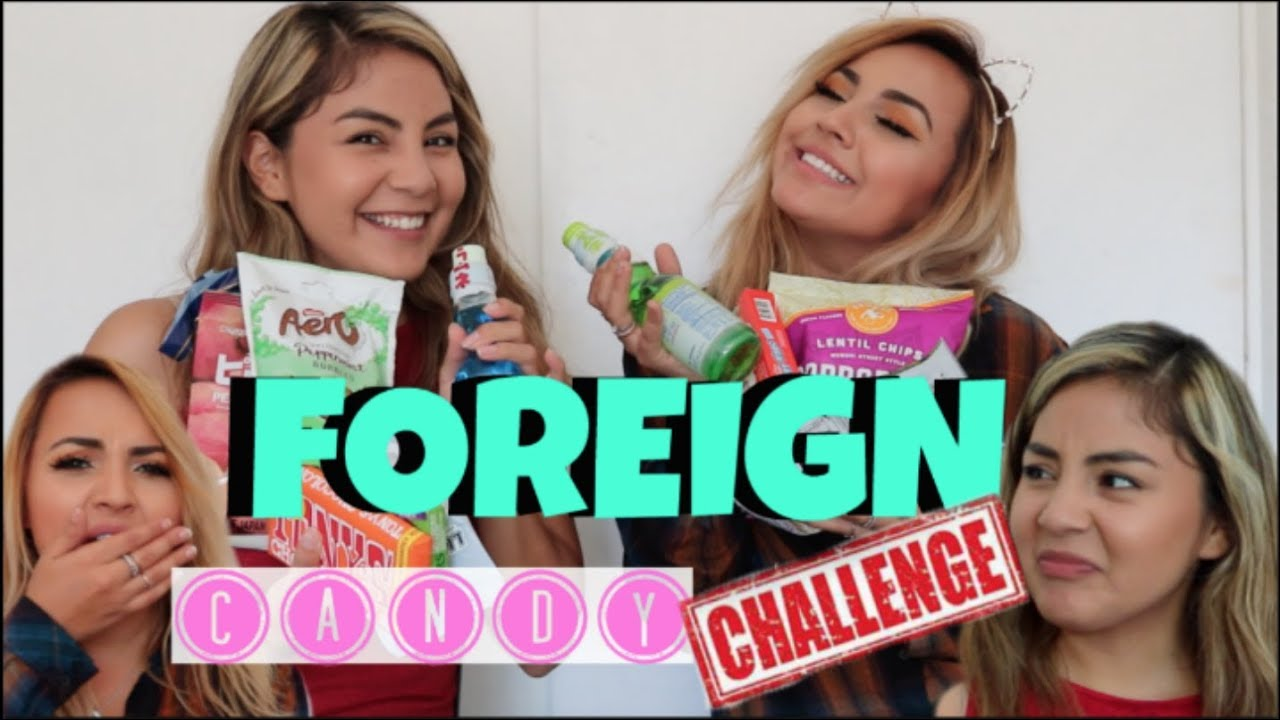 Trying Foreign Candy