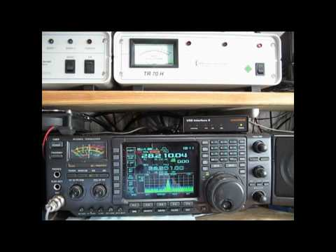 Repeat 10GHz RAIN SCATTER QSO with DB6NT in SSB and FM by