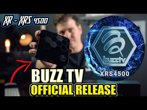 BUZZ TV XR & XRS 4500 🐝 OFFICIAL RELEASE VIDEO