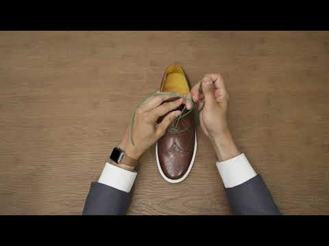 HOW TO TUTORIAL: Properly Lacing Your Dress Shoes