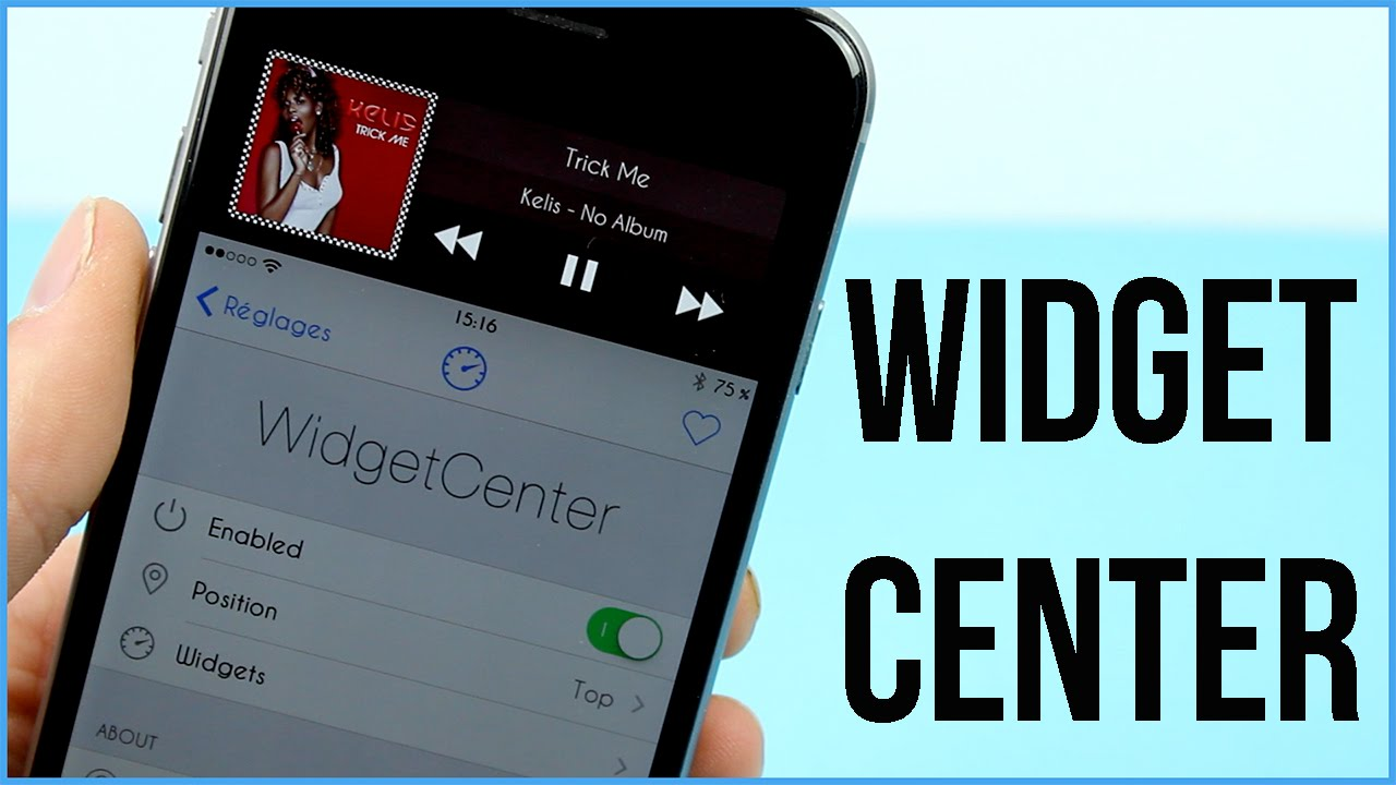 WidgetCenter : Des widgets dans la vue reachability d'iOS 8