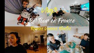 法语Vlog3 Retour en France 七年神仙友谊 我的八位帅/美小伙伴倾情出镜!