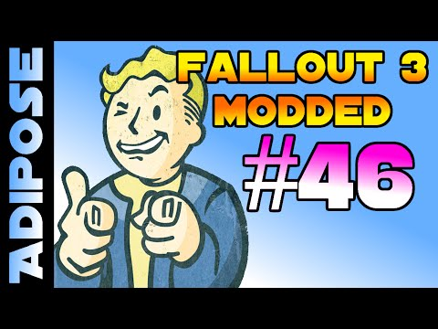 Let's RolePlay Fallout 3 Modded! #46 - The man behind the curtain