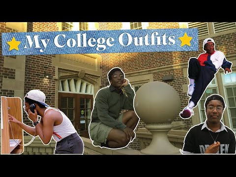 [VIDEO] - College Outfits! ⭐ (First month, fall & Summer clothing) 5