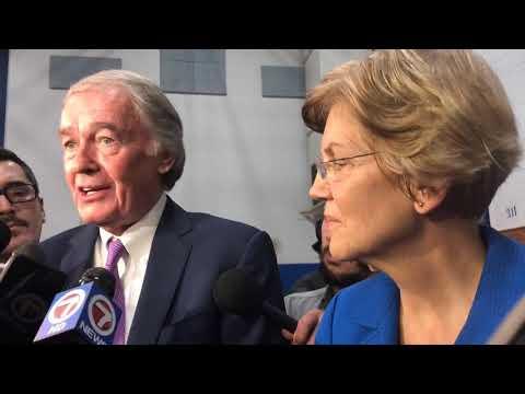 Elizabeth Warren, Ed Markey slam Columbia Gas executives for leaving hearing early