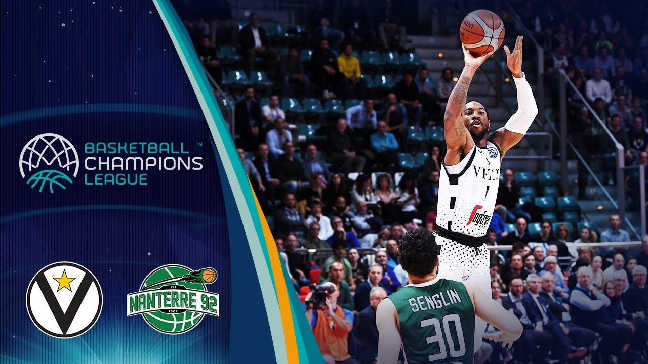 Virtus Bologna v Nanterre 92 - Quarter-Final - Highlights - Basketball Champions League 2018
