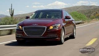 2015 Hyundai Genesis First Drive with Lotus Cars Chief Engineer of Test Development
