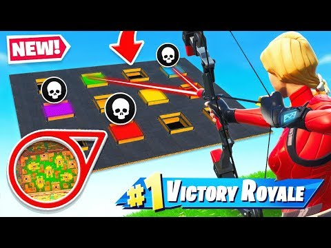 SHOOT The 500 LOOT HOLES *NEW* Game mode in Fortnite Battle Royale
