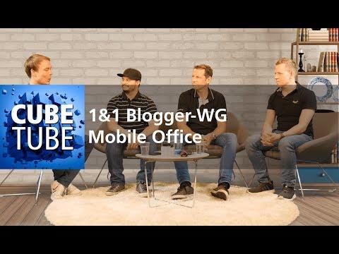 Mobil arbeiten mit dem Smartphone? Das Blackberry KEYone mit Tastatur in der 1&1 Blogger WG