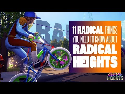 11 Things You Need To Know About Radical Heights - 1980s BATTLE ROYALE!