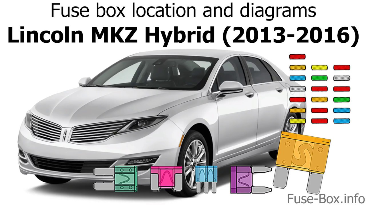 small resolution of fuse box location and diagrams lincoln mkz hybrid 2013 2016 youtube lincoln mkz 2014