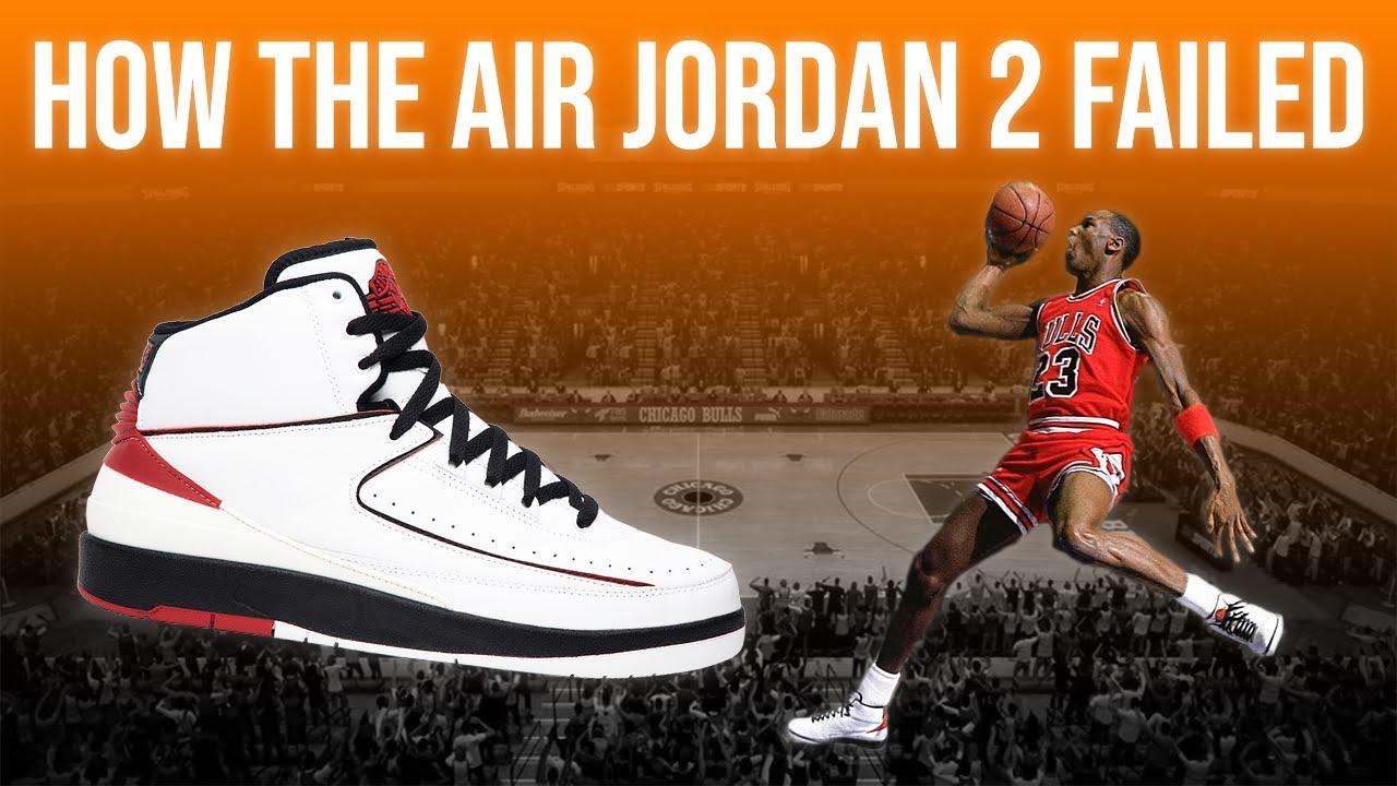 Why The Air Jordan 2 Failed