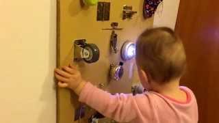 Manipulačná Doska - Activity Board | Detské Aktivity - Children Activities By Montemother