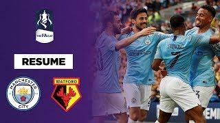 Résumé - FA Cup : Manchester City balaie Watford et entre dans l'histoire