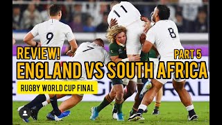 REVIEW! (Part 5) - England vs South Africa - Rugby World Cup #RWC2019 #England #SouthAfrica