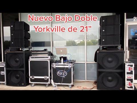 "Nuevo Bajo Yorkville doble de 21"" SA221S"