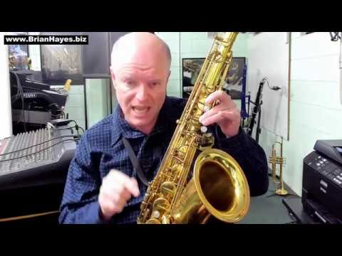 Alternate Fingerings for High F Sharp on Saxophone