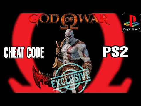 GOD OF WAR CHEAT CODES FOR PS2