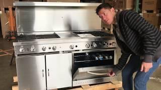 60 ins American  range  ranges burner commercial oven ovens RESTAURANT EQUIPMENT