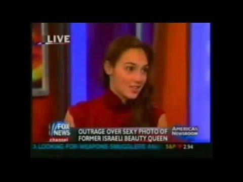 Gal Gadot interview in 2006 | Wonder Woman 2017 Miss Israel Young Gal Gadot Miss Universe