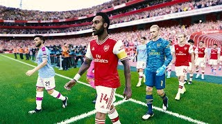 Arsenal vs Manchester City - EPL 15 December 2019 Gameplay