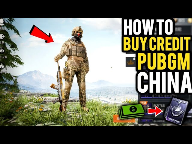 Pubg Mobile Chinese How To Buy Credits Top Up Game For Peace Method 2 Qq Coins All My Skins Youtube