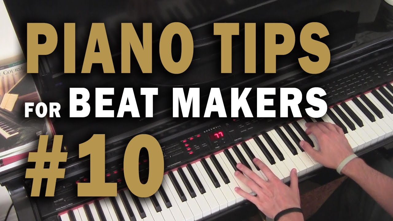 ten hip hop / r&b chord progression examples - piano tips for beat