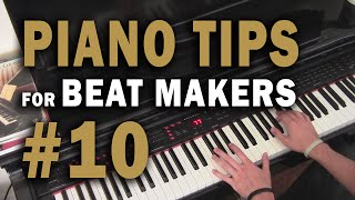 Ten Hip Hop / R&B Chord Progression Examples - Piano Tips for Beat Makers #10