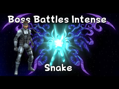 Super Smash Brothers Brawl - Boss Battles Intense - Snake