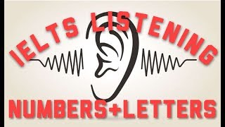 IELTS Listening Practice for Numbers and Letters 5 (Postcodes)