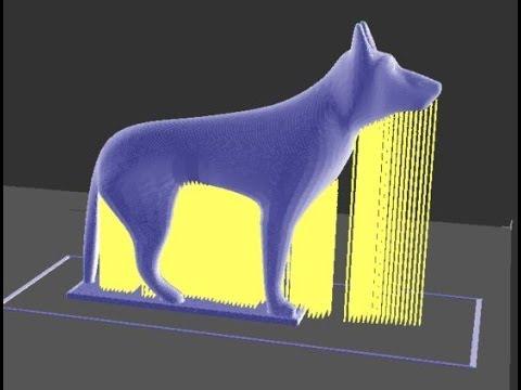 ZMorph 3D printer - German Shepherd Dog
