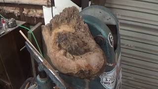 Woodturning: Mystery Burl Bowl