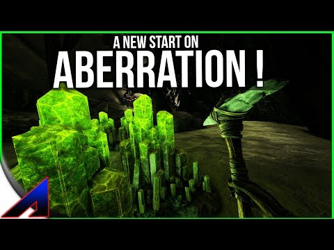 A Fresh start on aberration! Solo Official PvP Servers ARK Survival Evolved ep 77