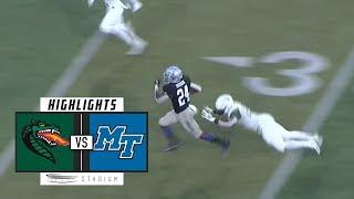 UAB vs. Middle Tennessee Football Highlights (2018) | Stadium