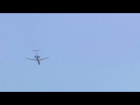 Unarmed Russian Air Force jet flies over Pentagon, Capitol, CIA, White House. Russian military plane