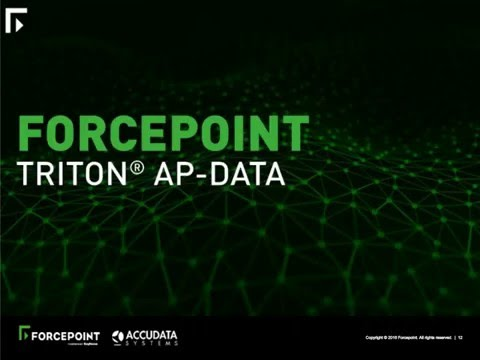 Forcepoint & Accudata - Insider Threat Data Protection Webin