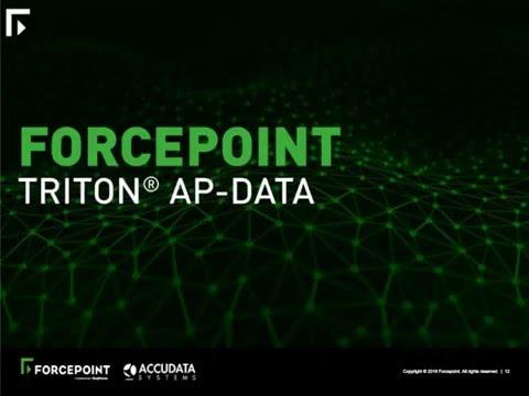 Forcepoint & Accudata - Insider Threat Data Protection Webinar