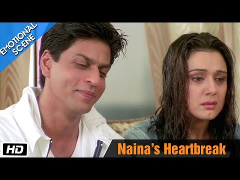 Naina's Heartbreak - Emotional Scene - Kal Ho Naa Ho - Shahrukh Khan, Saif Ali Khan & Preity Zinta