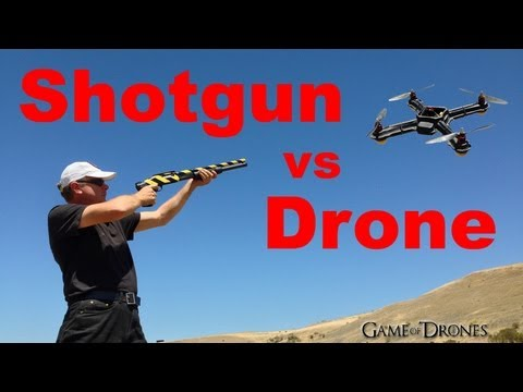 Shotgun vs Drone Airframe - UAV Torture Test by Aerial Sports League