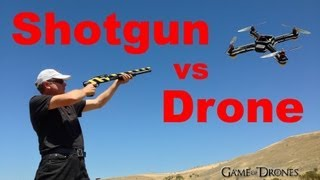 Shotgun vs Drone - UAV Torture Test by Game of Drones
