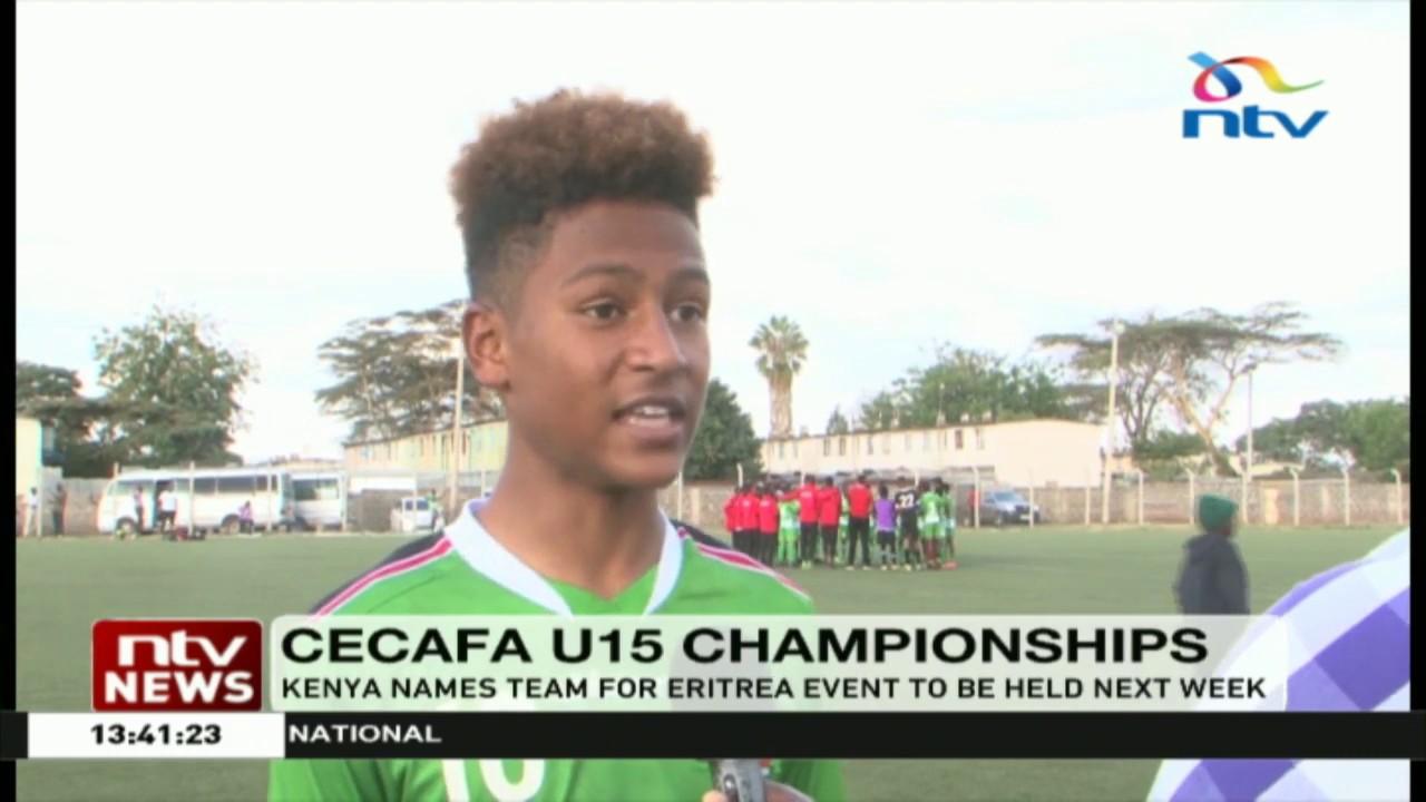 Kenya names team to take part in the CECAFA U15