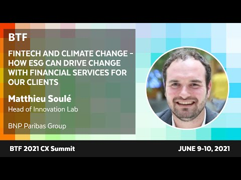 Fintech and Climate Change – How ESG Can Drive Change with Financial Services For Our Clients