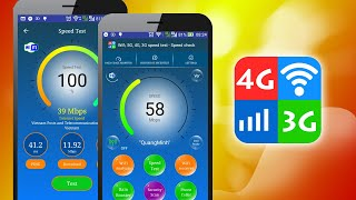 Wifi, 5G, 4G, 3G, 2G, GPRS Speed Test & Signal Strength Booster V4.6 screenshot 4