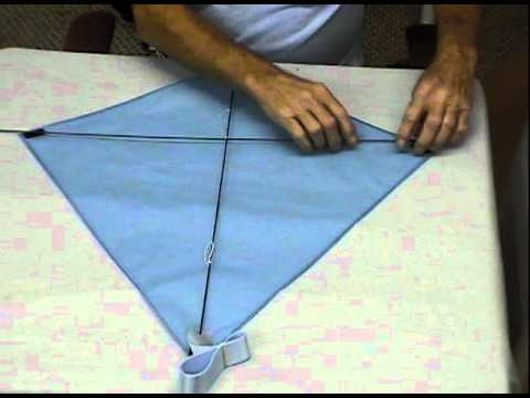 how to make a homemade kite that flies