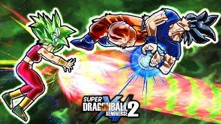 NEW ANIME SLIDING KAMEHAMEHA GOKU SKILL! Dragon Ball Xenoverse 2 Ultra Instinct Kamehameha Vs Kefla